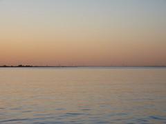 River Elbe - sunset glow (achatphoenix) Tags: sunset sunsetglow elbe ferry glückstadtwischhafen water wasser sun coucherdusoleil aqua
