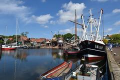 Urk  , Netherlands 1 (Pixelkids) Tags: hafen urk niederlande schiffe himmel wolken häuser meer