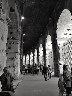 #coliseo #colosseo #blackandwhite #roma