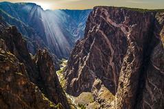 Painted Wall (My Americana) Tags: blackcanyonofthegunnisonnationalpark blackcanyon nationalpark np paintedwall colorado co landscape scenic canyon montrose