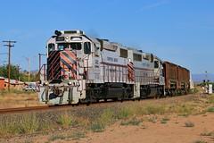 Acid Trip (BravoDelta1999) Tags: copperbasin cbry railway southernpacific sp railroad phoenixandeastern kearny arizona emd gp392 502 gp40 302 sulfuric acid train