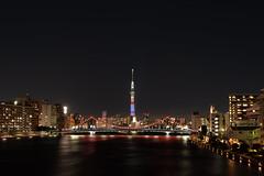 L1060344 (Zengame) Tags: avengers avengersinfinitywar hakozaki kiyosubridge leica leicasl leicasltyp601 sl sakurabashi sumidariver sumidagawa summilux summiluxsl50mmf14asph architecture biridge bridge illuminated illumination japan landmark night river sky skytree sumidagawaohashi tokyo tokyoskytree tower typ601 アヴェンジャーズ アヴェンジャーズインフィニティウォー スカイツリー ズミルックス ズミルックスsl ライカ 夜 日本 東京 東京スカイツリー 桜橋 橋 清洲橋 空 箱崎 隅田川 隅田川大橋 江東区 東京都 jp