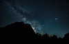 Zion National park. Milky way (surf Durrani) Tags: milky way stars galaxy night astrophotography mountains zion national parks