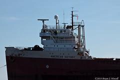 Passing Profile (tubaman21) Tags: americanvictory middletown neshanic algomacentralmarine algoma marine americansteamship