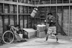 000013160006 (Roger Wojahn) Tags: yellowfilter mdr monochrome bnw marvista local marinadelrey blackandwhite tmax100 film outdoor pugilist boxer boxing leicamp 5014asph kodaktmax100