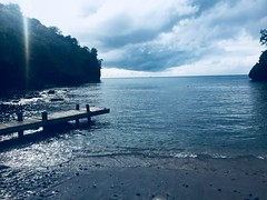 Changing Tides (J.O. Fotos) Tags: storm dock beach waterfront oceanview view tide ocean stlucia