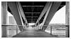 Silhouettes_Passerelle Simone de Beauvoir_Paris (laurentcornu) Tags: bnf art symétrie france noiretblanc bw monochrome paris pont bridge architecture