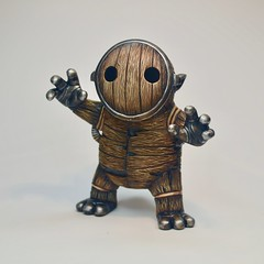 Bourbon Bourbon Barrel Whiskey Sprite Sprite (Jared Circusbear) Tags: custom toy toyart art fan collectible popa popart figure figurine sculpture painted miniature plastic handmade arttoy munny dunny kid kidrobot funkopop popvinyl illustration gallery1988 martiantoys bourbon barrel whiskey troll sprite wood carved monster boo ghost