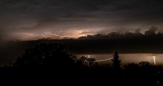 Blitze am Niederrhein