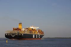 MSC CRISTINA (angelo vlassenrood) Tags: ship vessel nederland netherlands photo shoot shot photoshot picture westerschelde boot schip canon angelo walsoorden cargo container msccristina