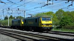 90041 (Martin's Online Photography) Tags: freight freightliner locomotive train electric class90 transport daventry coatbridge actros brick nikon nikond7200 warrington cheshire rail railway
