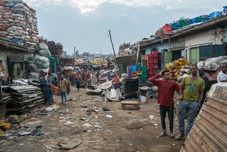 Recycling, Mercato - Addis Ababa, Ethiopia