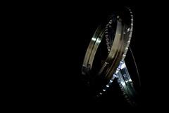 macro rings (Wendy G Davies) Tags: 7dwf lowlight dark macromondays black lowkey steel silver mount reverselens adapter rings macro