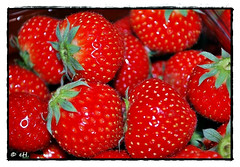 Strawberries (Els Herten) Tags: strawberry fruit red macro food