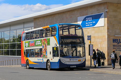 19150 NK07GZZ Stagecoach Fife (busmanscotland) Tags: 19150 nk07gzz stagecoach fife nk07 gzz ad adl alexander dennis enviro 400 e400 busways north east scotland
