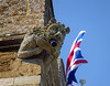 St Peter and St Paul, Uppingham (Dun.can) Tags: church medieval gothic 14thcentury gargoyle flag stpeterstpaul uppingham rutland
