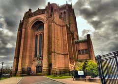 Liverpool Anglican  Cathedral (robin denton) Tags: liverpool cathedralcity cathedral church churchofengland building grade1listedbuilding listedbuilding england uk exterior hdr samsunggalaxys7 samsung galaxy s7 samsunggalaxy