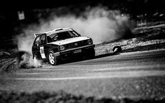 Vw Golf at Gurkracet 2018 (Subdive) Tags: gurkracet motorsport raceday racetrack sverige sweden vms västerås västeråsmotorstadion västeråsmototorsällskap västeråsracetrack rally rallye rallycar bw blackwhite volkswagen golf