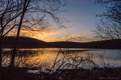 Monksville Sunset_3632 (smack53) Tags: smack53 monksville monksvillereservoir reservoir njstatepark water mountains silhouettes sky clouds longpondironworksstatepark lake springtime spring nikon d100 nikond100