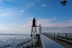 Leuchtturm (Rod Elbahn) Tags: leuchtturm lighthouse watt wattenmeer nordsee norddeutschland meer strand küste coast beach canon 750d