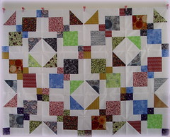 """9 PATCH MADNESS QUILT"" (Patchwork Daily Desire) Tags: patchworkdailydesire patchwork piecing pattern purple tutorial 9patch mad handquilted handmade hobby quilting quilt quilted quilts crafts cozy coffee garden spring scraps summer sky binding batting blocks blue"