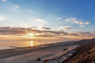 Sonnenuntergang über Zoutelande