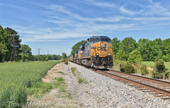 CSX N319-27 in Mineral Springs (Travis Mackey Photography) Tags: csx n319 mineralsprings nc monroe sub gevo