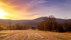 Early Bird (Nicholas Erwin) Tags: landscape sunrise sun colorful colourful contrast spring field farm twilightfarm barn mountain nature fujifilm fujifilmxt2 fujixt2 xf1855mmf284rlmois 1855 xf1855 fujifilm1855 waterbury vermont vt unitedstatesofamerica usa countryside country rural landschaft trees light fuji outside natur natural world happy naturaleza dawn springtime fav10 fav25 fav50