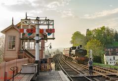 7714 (LMSlad) Tags: severn valley railway bewdley 7714 pannier tank gwr 060