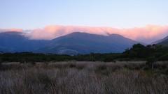 Dusk II (335semi) Tags: landscape australia victoria vic wilsonsprom wilsons promontory nationalpark national park np dusk sunset mountains clouds pink fujixt2