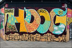 Hotdog (Alex Ellison) Tags: hdog hotdog yrp southlondon peckham urban graffiti graff boobs veg ghz
