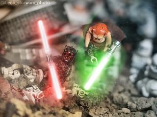 The Lightsaber Duel..