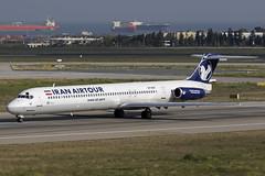 EP-MDF IST 20.04.2018 (Benjamin Schudel) Tags: iran airtour md83 mcdonnell douglas ist istanbul ataturk international airport epmdf