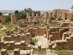 Karthago, punischen Wohnhäusern auf dem Byrsa-Hügel