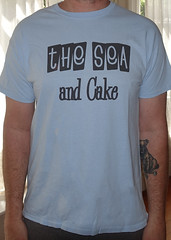 #2985A the Sea And Cake - The Sea And Cake (Minor Thread) Tags: minorthread tshirtwars tshirt shirt vintage rock concert tour merch blue seaandcake seacake thrilljockey 1994 archerprewitt samprekop indie jazz records
