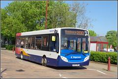 Stagecoach 36766 (Lotsapix) Tags: stagecoach oxford oxfordshire buses bus daventry banbury northamptonshire 36766 dennis enviro enviro200 alexander adl ou62bnf