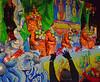 Please! ME! (BKHagar *Kim*) Tags: bkhagar mardigras neworleans nola la parade celebration people crowd beads outdoor street napoleon uptown float riders throws night light proteus kreweofproteus krewe