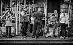 zombie apocalypse (Daz Smith) Tags: dazsmith fujixt20 fuji xt20 andwhite bath city streetphotography people candid portrait citylife thecity urban streets uk monochrome blancoynegro blackandwhite mono smartphone mobile technology zombie