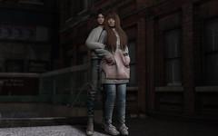 Out and About (Natsumi Xenga) Tags: backdropcity cute kawaii japan japanese exploring subway city casual