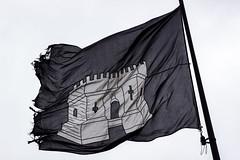Gravensteen, Gent, Belgium (IFM Photographic) Tags: img2127a canon 600d ef2470mmf28lusm ef 2470mm f28l usm lseries ghent gent gand flemishregion régionflamande vlaamsgewest eastflanders flandreorientale ostflandern oostvlaanderen flanders flandre flandern vlaanderen belgium belgië belgique belgien gravensteen castle flag