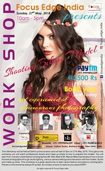 Focus Edge India Fashion and Glamour Photography Work Shop 2018 (shobhit Chaturvedi) Tags: fashion photography workshop modeling model glamour event focus edge india new delhi learn photographer bikini shoot portfolio
