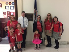 Moms and Clean Air Kids Meet with Representative Connolly's Office
