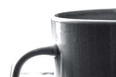 CUPBW1 (renaud5962) Tags: black white monochrome minimalist coffee pentaxflickraward smc pentaxd fa macro 100mm f28 wr blackandwhite