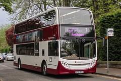 Lothian 202 • HY61 BUS (MichaelStuartEDI) Tags: e400h hybrid 400 enviro adl dennis alexander 202 hy61bus buses lothian lothianbuses