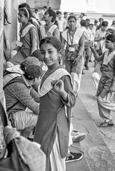 Sweetness (Robert Borden) Tags: girl portrait street monochrome blackandwhite bw taj thetajmahal sweet fuji fujifilm fujixt2 fujifilmxt2 50mm 50mmlens fujiphoto travel agra india