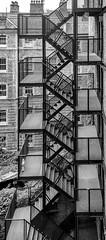 Stairway to heaven (adrianstevejoseph) Tags: architecture blackandwhite farringdon london england unitedkingdom gb stairway