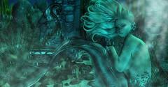 Serene Moments (☢.:Myth:.☢) Tags: secondlife sl serene siren underwater ocean fins fantasy