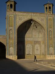 PA036083 (bartlebooth) Tags: shiraz farsprovince iran persia middleeast iranian architecture olympus e510 evolt silkroad persian vakilmosque mosque masjid masjed islam muslim holy tiles bazaar