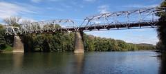 Aetnaville Bridge Wheeling, WV12 (Seth Gaines) Tags: westvirginia wheeling bridge abandoned