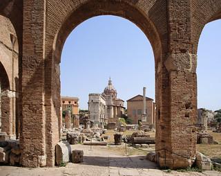A gallery port of Basilica Julia 46 BC